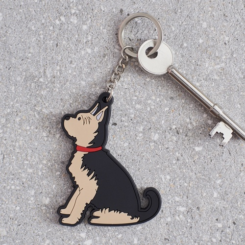 Yorkie Yorkshire Terrier Key Ring