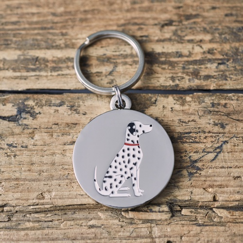 Dalmatian Dog ID Name Tag