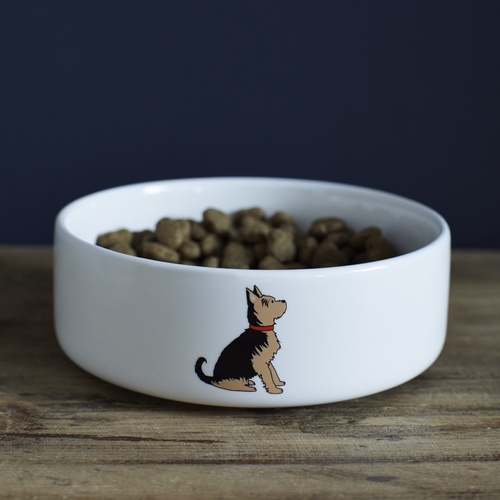 Yorkshire Terrier Dog Bowl