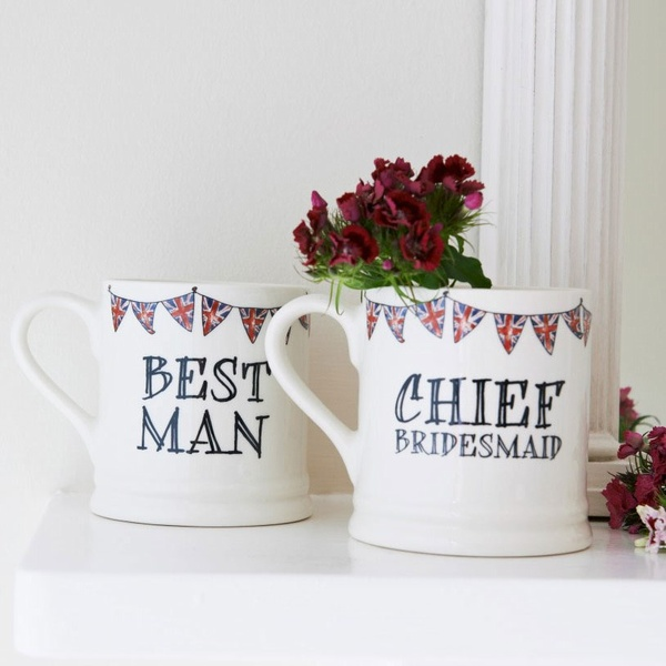 Best Man mug , Wedding Bells ,