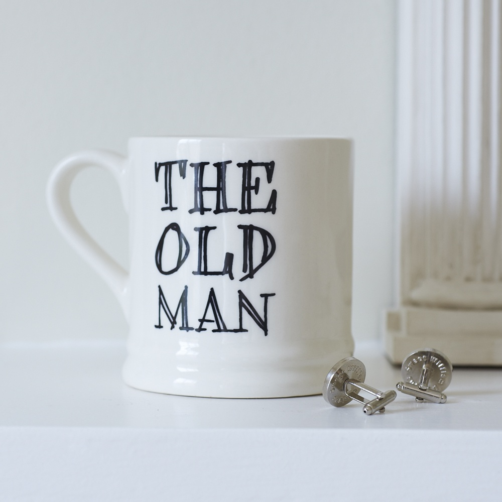 The Old Man mug