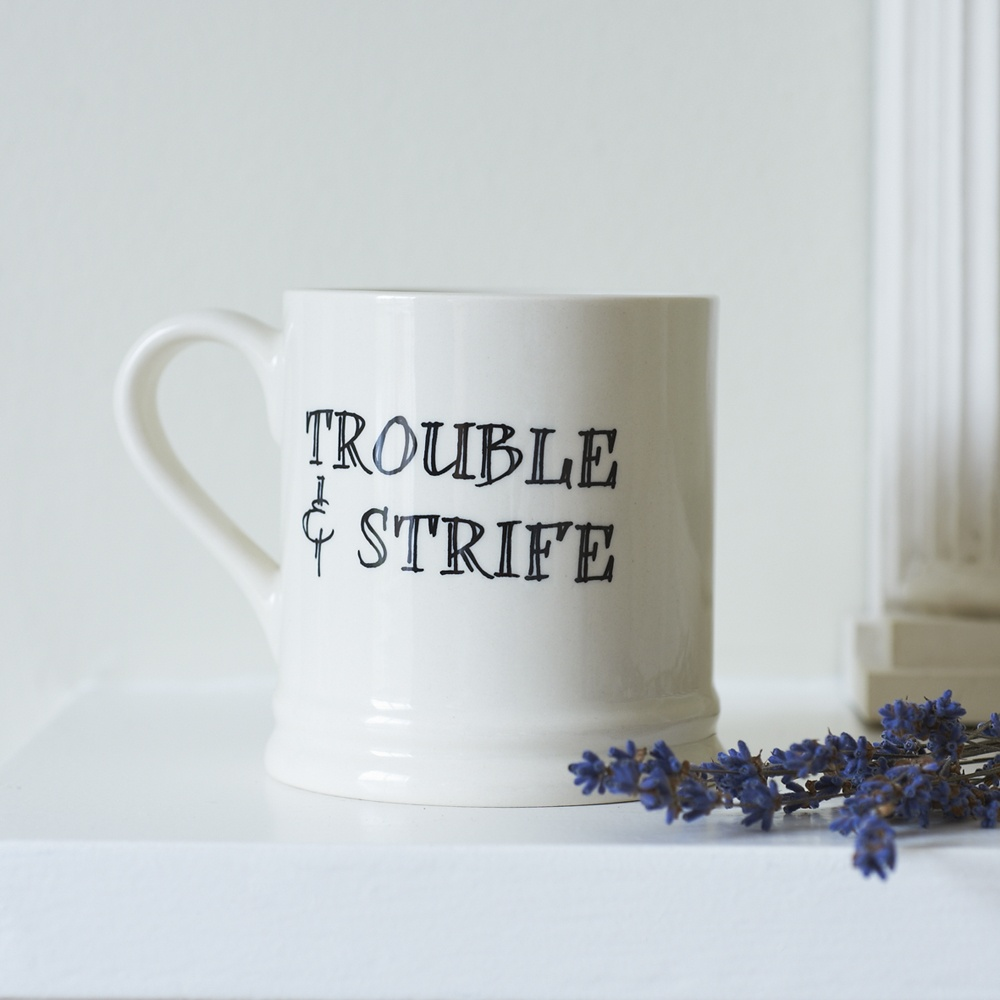 Trouble and Strife mug