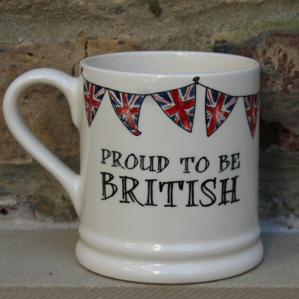 Proud to be British mug , Quintessentially British ,