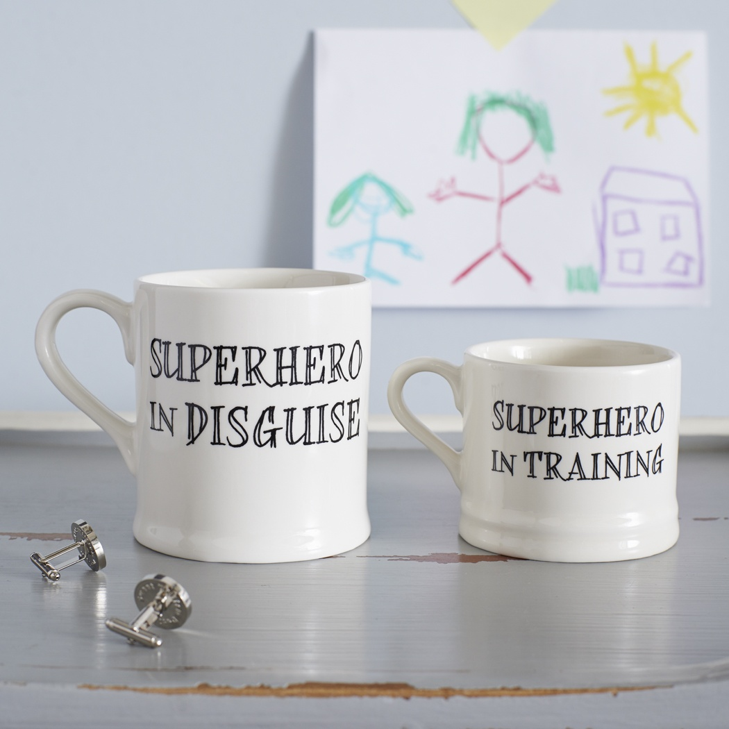 Superhero mugs , Family Mugs ,