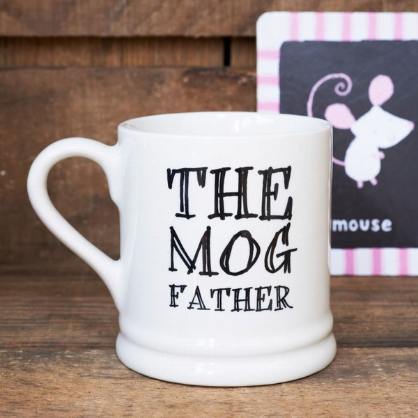 The Mog Father mug , Mutts & Moggies > Mugs ,