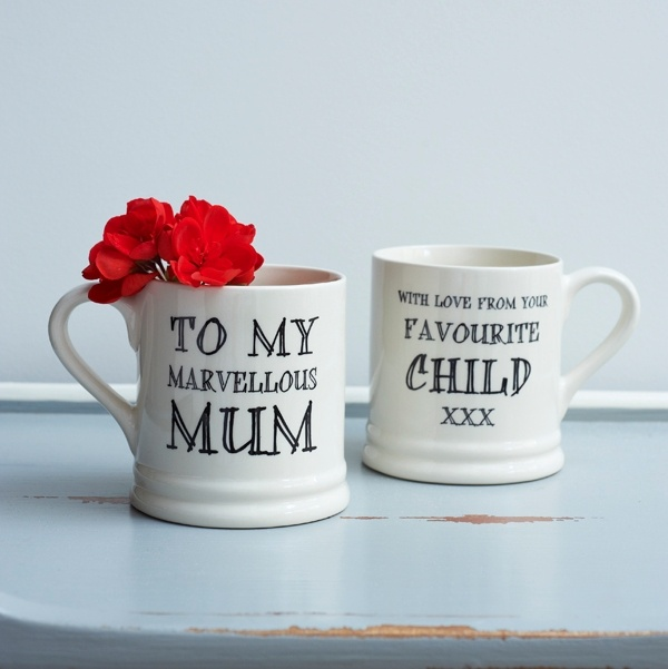 Marvellous Mum love your favourite mug , Family Mugs ,
