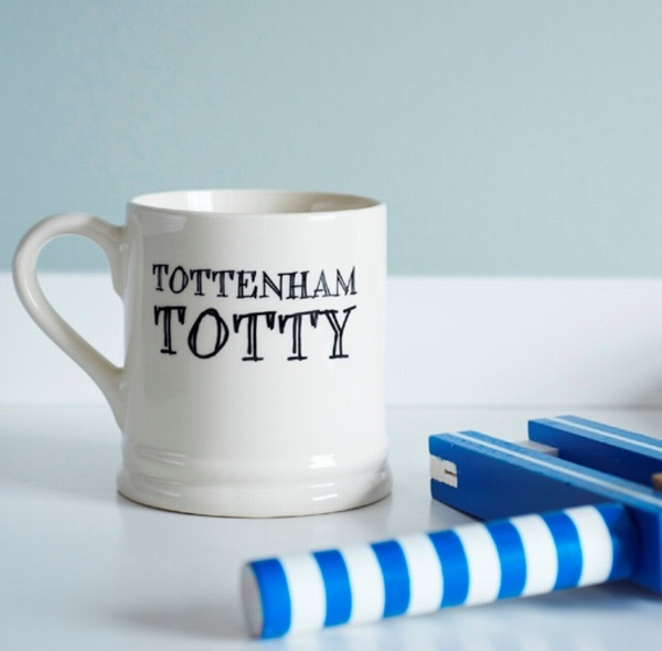 Tottenham Totty fan mug , Football Mugs ,