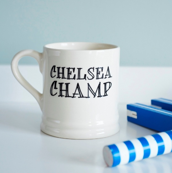 Chelsea Champ Mug - Chelsea FC Fan Mug , Football Mugs ,
