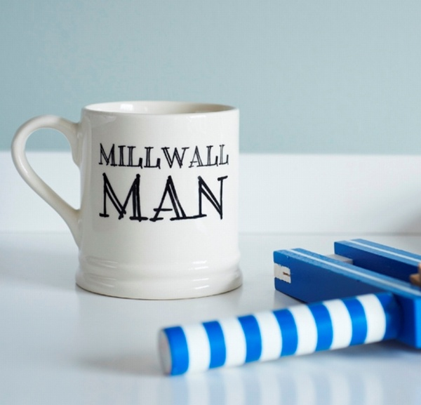 Millwall Man - Millwall FC Fan Mug , Football Mugs ,