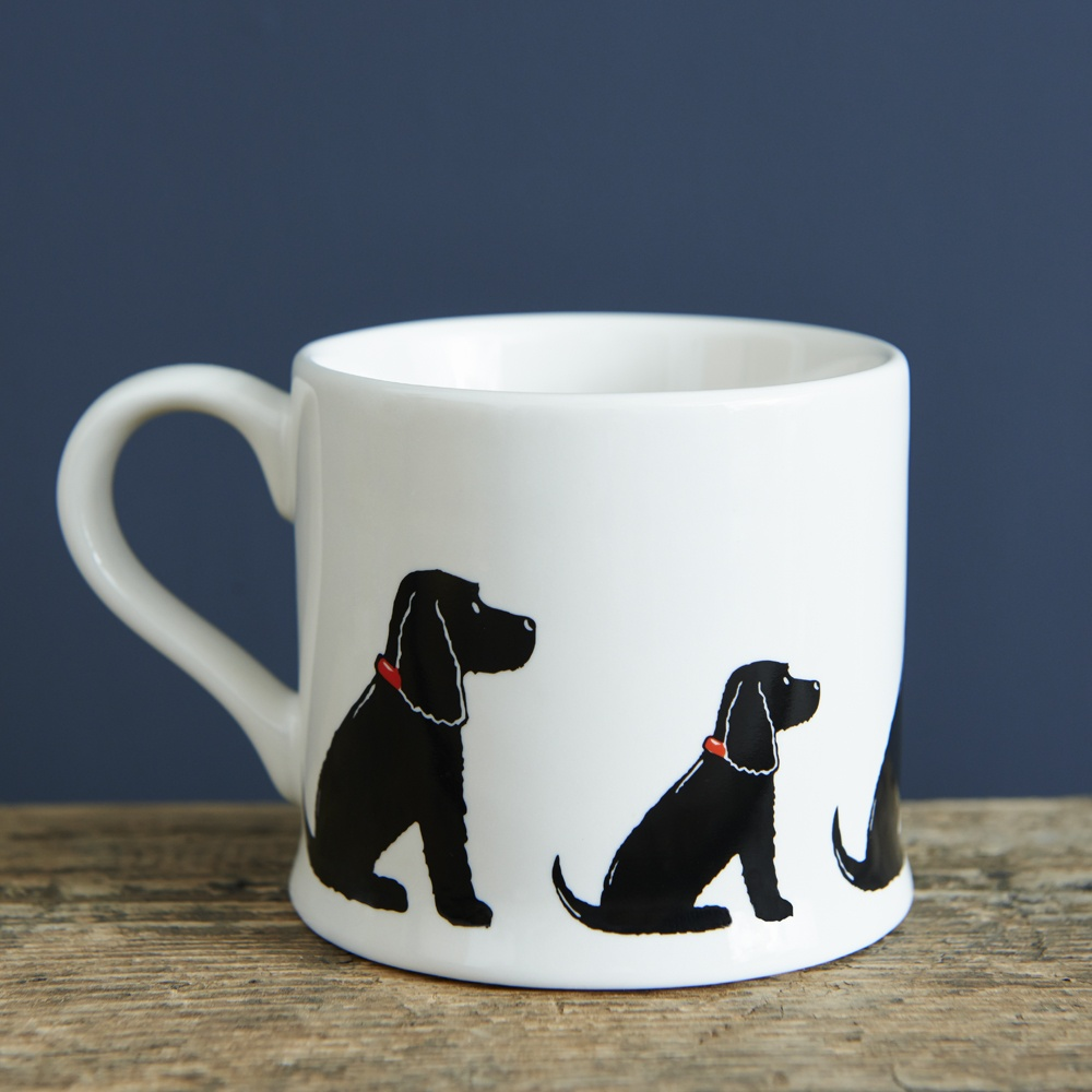 Cocker Spaniel (black) Mug , Mischievous Mutts > Mugs , Cocker Spaniel