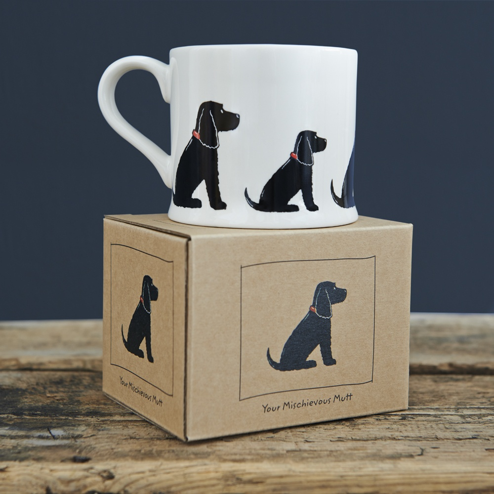 Cocker Spaniel mug and gift box