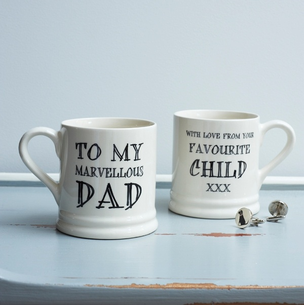 Marvellous Dad... With love from your favourite mug , Family Mugs ,