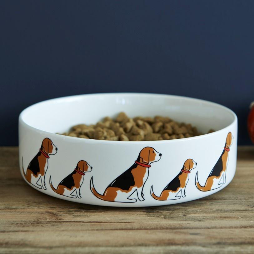 Beagle Dog Bowl , Mischievous Mutts > Dog bowls , Beagle