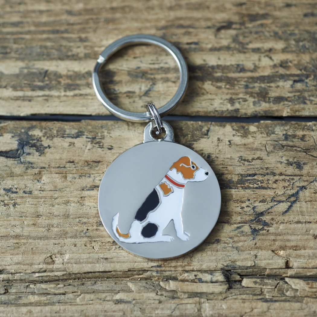 Jack Russell Dog Tag