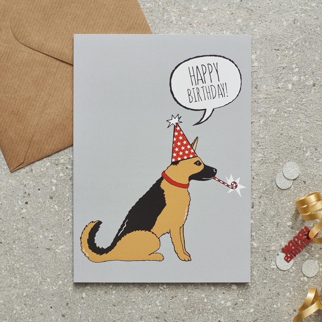 German shepherd birthday card 275 mischievous mutts greeting german shepherd birthday card mischievous mutts greeting cards german shepherd m4hsunfo