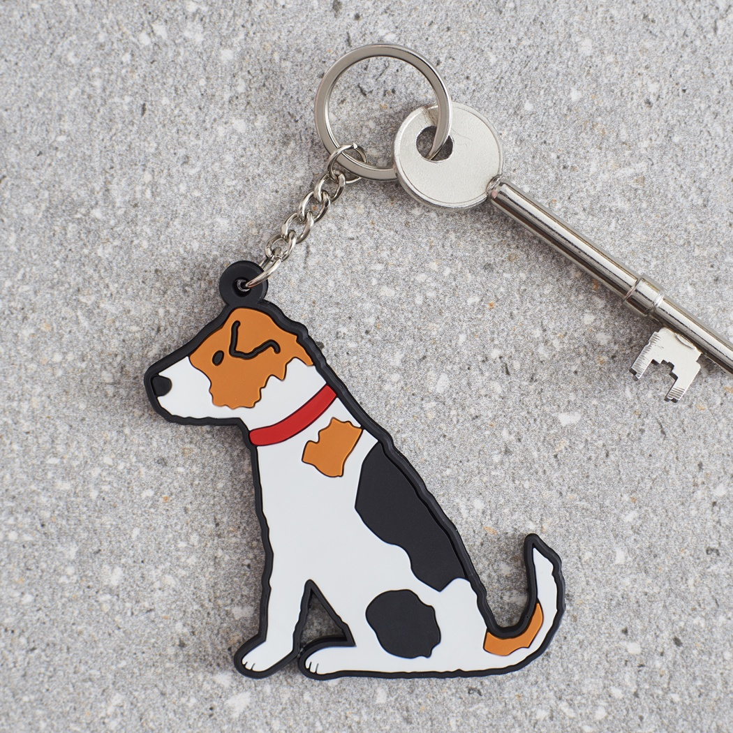 Jack Russell Keyring , Mischievous Mutts > Keyrings , Jack Russell