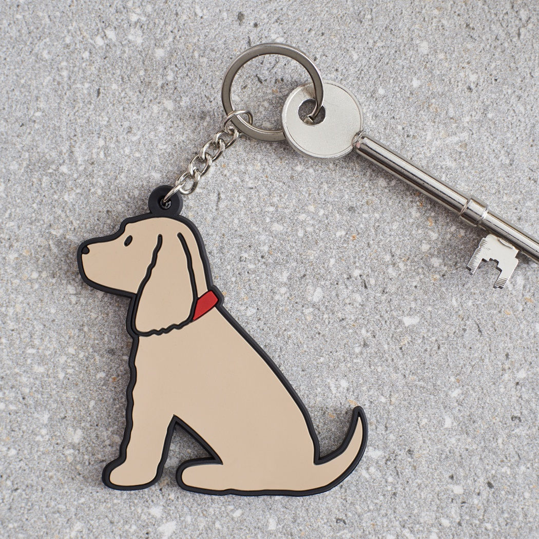 Golden Cocker Spaniel Keyring , Mischievous Mutts > Keyrings , Cocker Spaniel