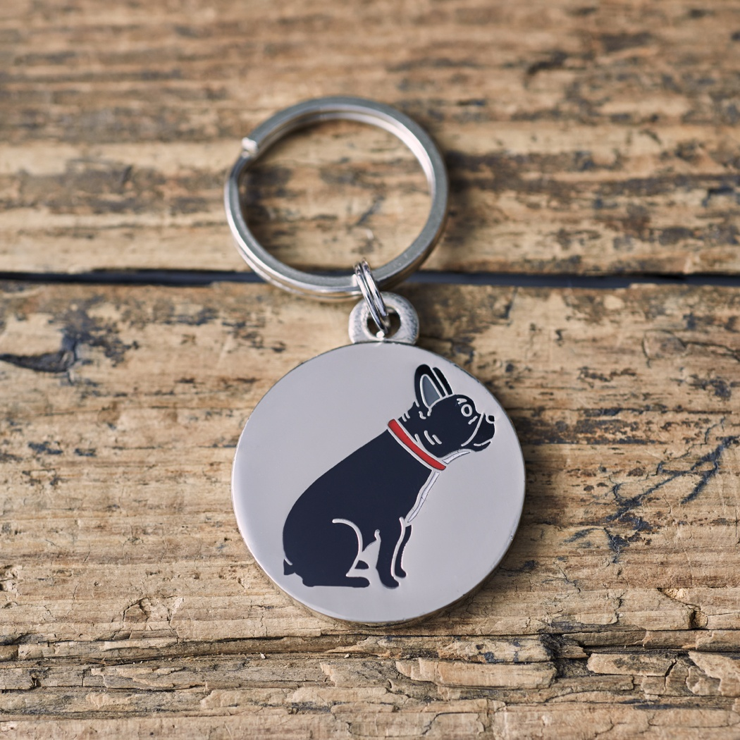 French Bulldog Frenchie dog ID Name Tag