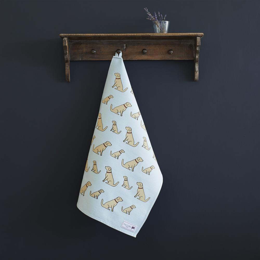 Golden Retriever Tea  Towel , Mischievous Mutts > Tea Towels , Golden Retriever