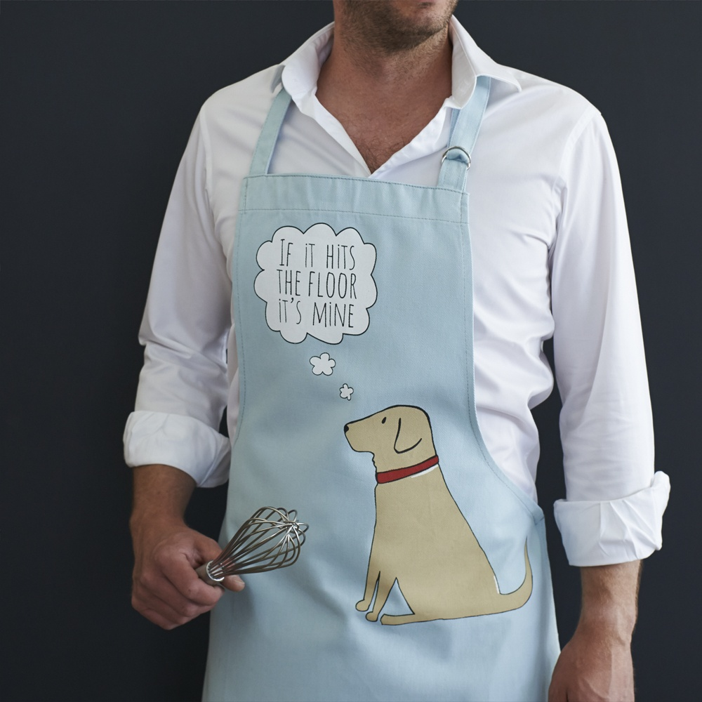 Yellow Labrador Apron , Mischievous Mutts > Aprons , Yellow Labrador