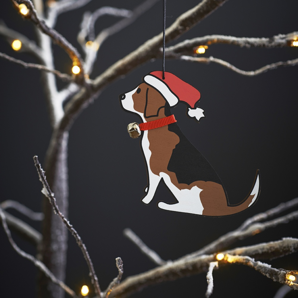 Beagle Dog Christmas Tree Decoration , Mischievous Mutts > Christmas Decorations , Beagle