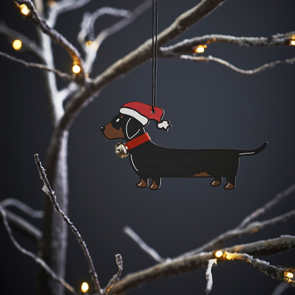 Dachshund Christmas Tree Decoration , Mischievous Mutts > Christmas Decorations , Dachshund