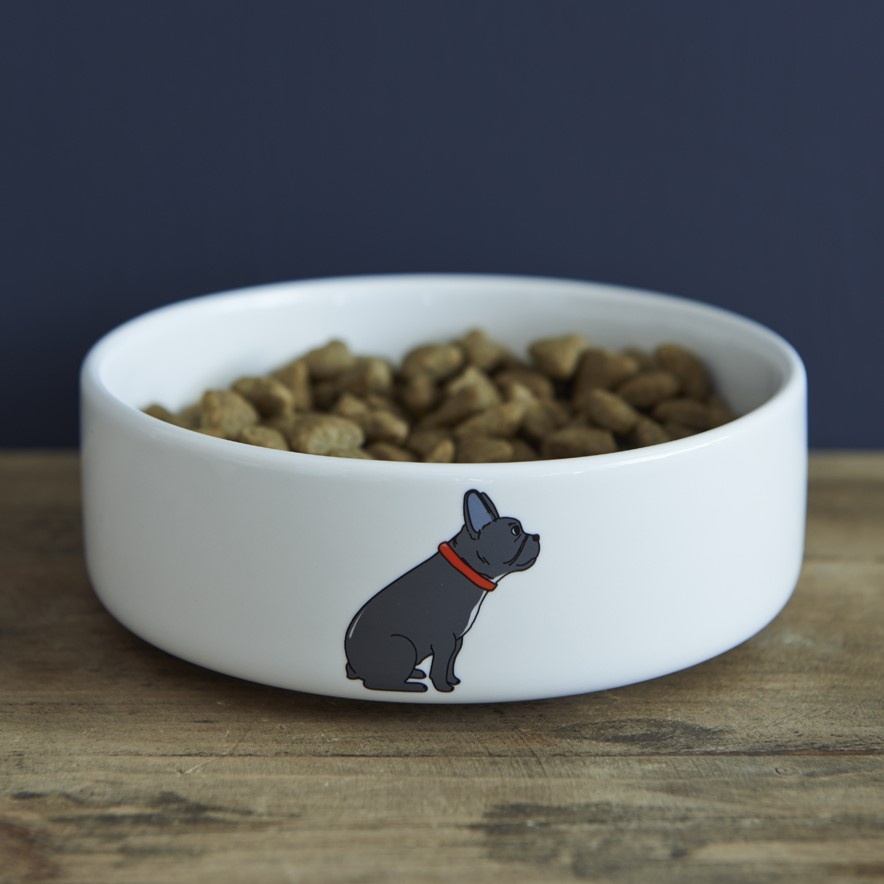 French Bulldog Bowl , Mischievous Mutts > Dog bowls , French Bulldog