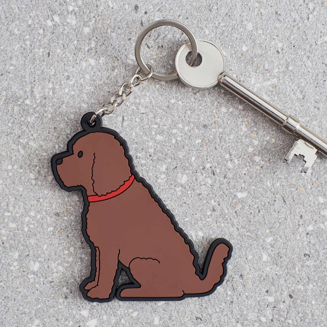 Cockapoo Key Ring , Mischievous Mutts > Keyrings , Cockapoo
