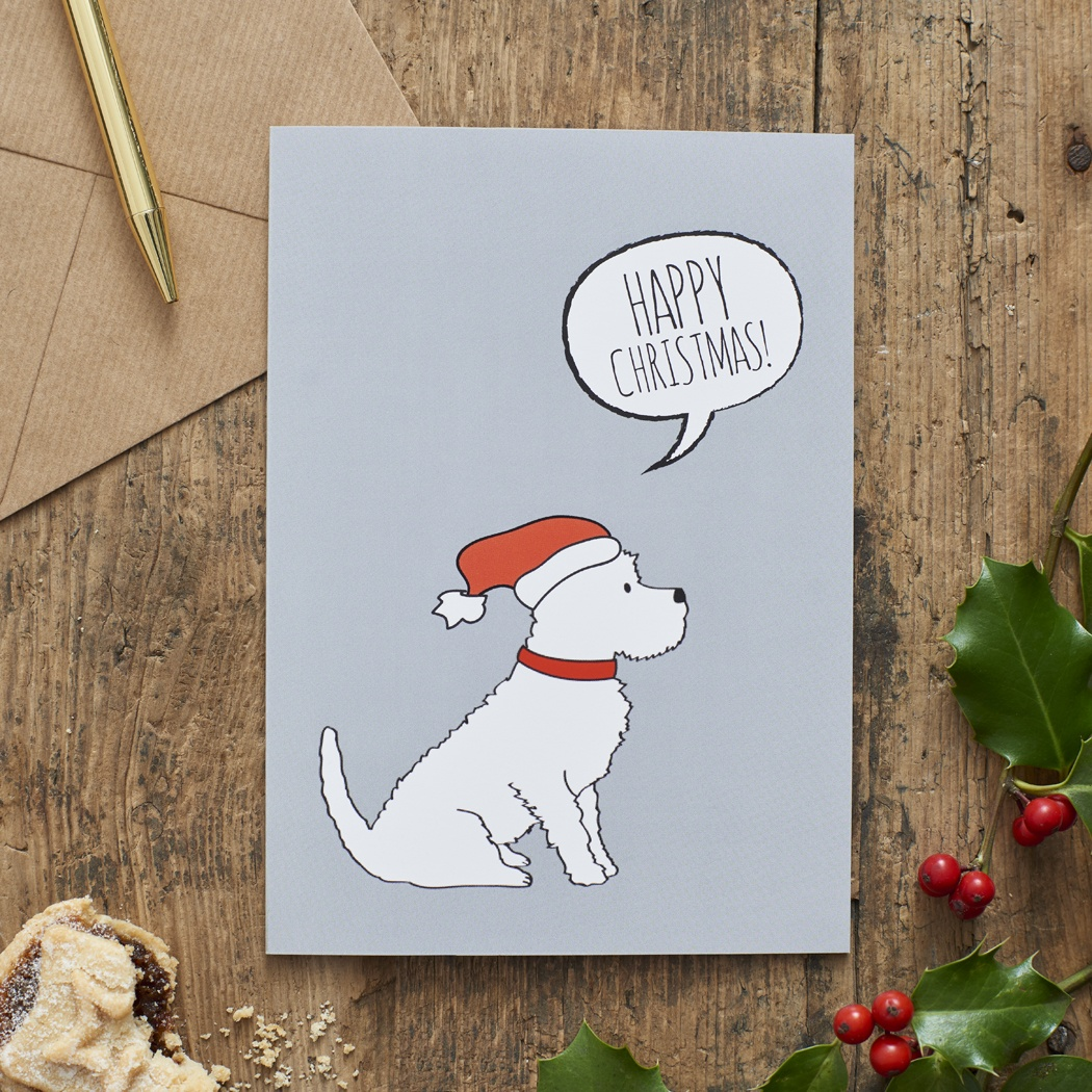 Westie Christmas Card , Mischievous Mutts > Greeting Cards , Westie