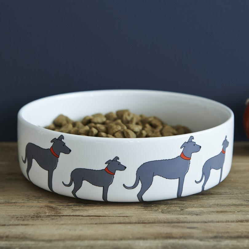 Lurcher Dog Bowl , Mischievous Mutts > Dog bowls , Lurcher