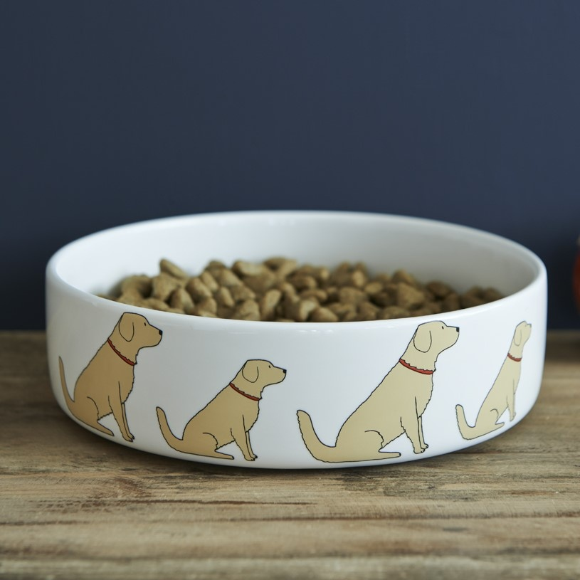 Golden Retriever Dog Bowl , Mischievous Mutts > Dog bowls , Golden Retriever