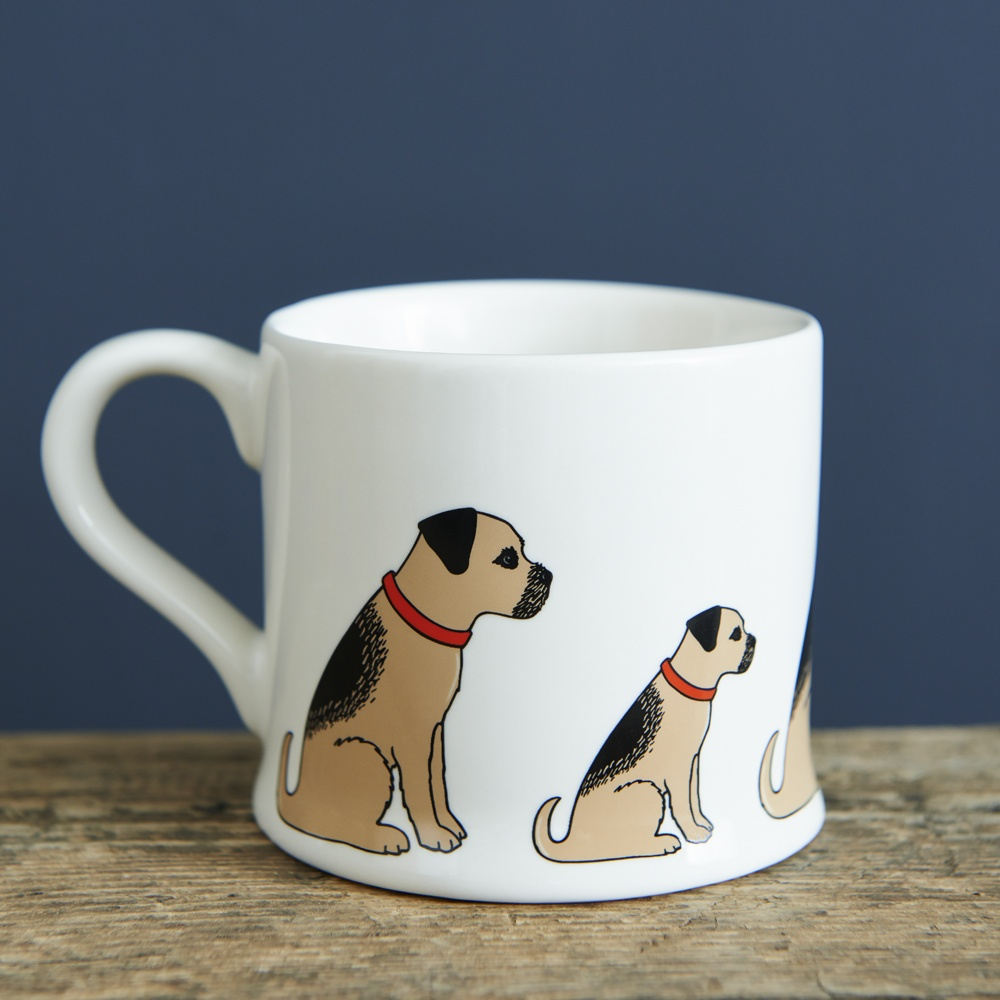 Border Terrier Mug , Mischievous Mutts > Mugs , Border Terrier