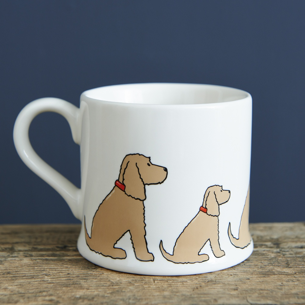 Golden Cocker Spaniel Mug , Mischievous Mutts > Mugs , Cocker Spaniel