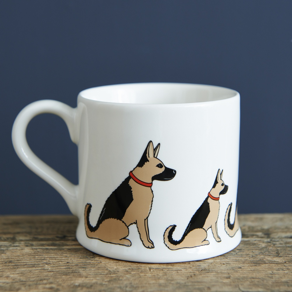 German Shepherd Mug , Mischievous Mutts > Mugs , German Shepherd