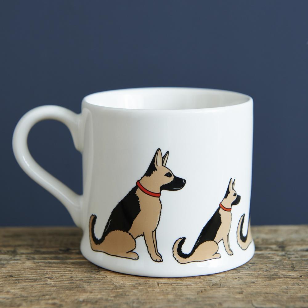 German Shepherd Mug , Mischievous Mutts > Mugs , German Shepherd