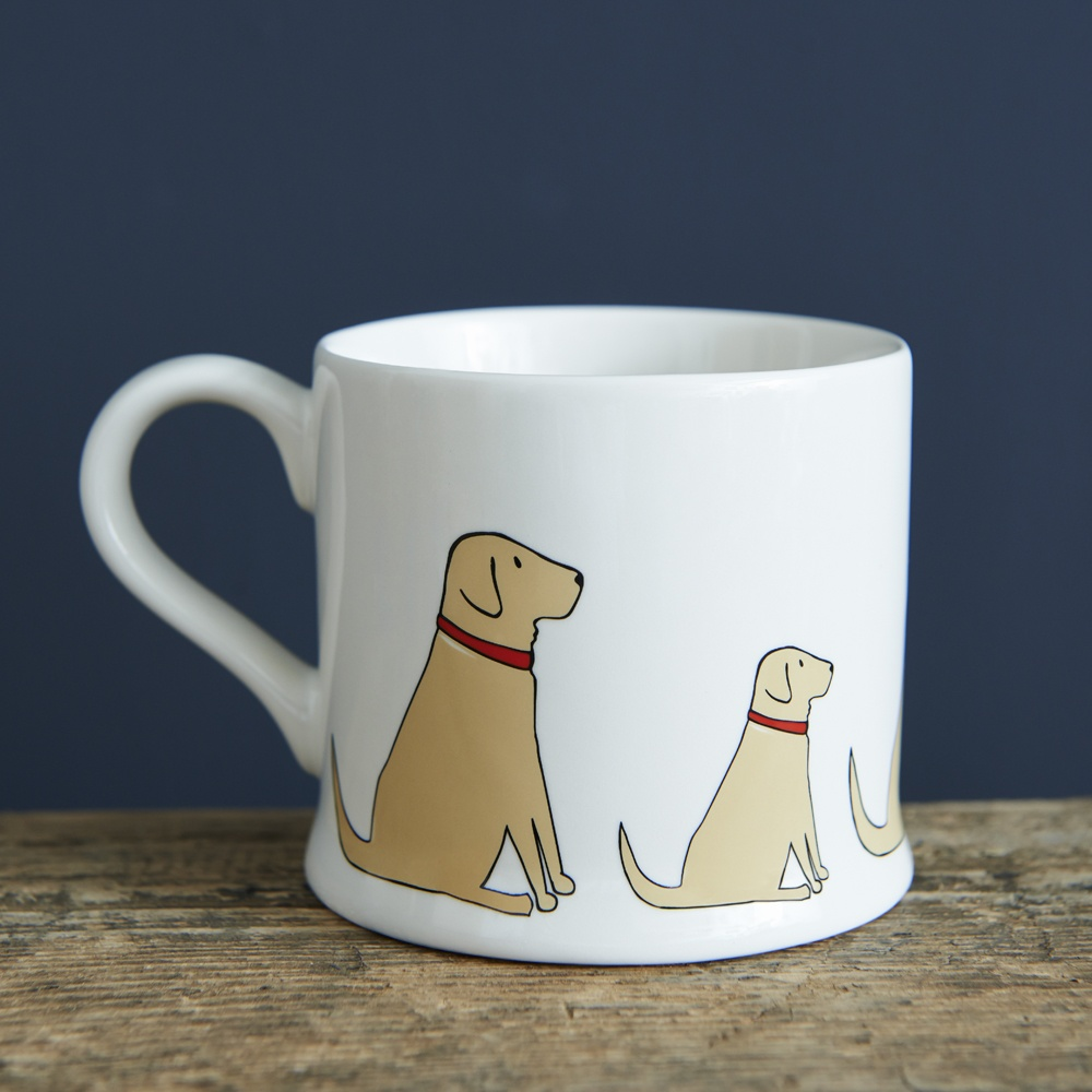 Yellow Labrador Lab Mug , Mischievous Mutts > Mugs , Yellow Labrador