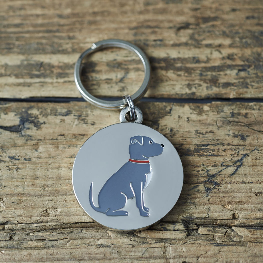 Staffie Dog ID Name Tag , Mischievous Mutts > Dog Tags , Staffie