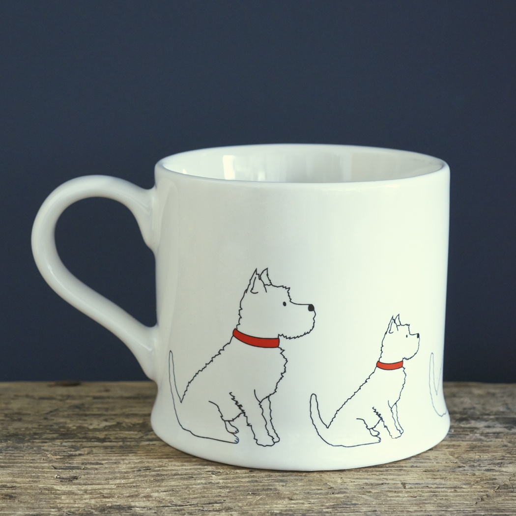 Westie Mug , Mischievous Mutts > Mugs , Westie