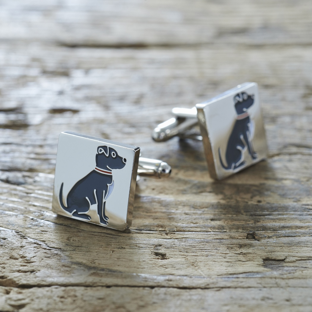 Staffie Cufflinks , Mischievous Mutts > Cufflinks , Staffie