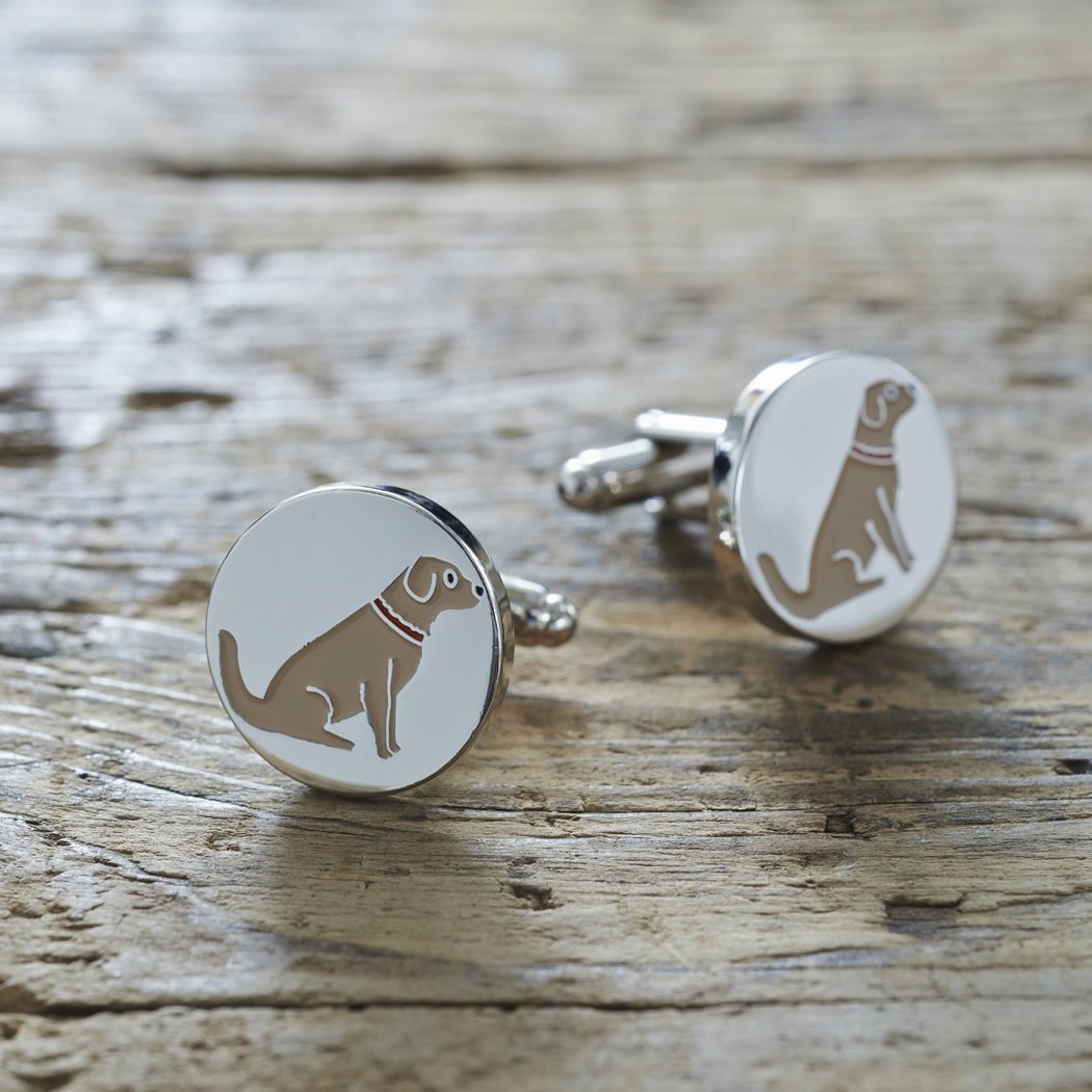 Golden Retriever Cufflinks 163 25 00 Mischievous Mutts