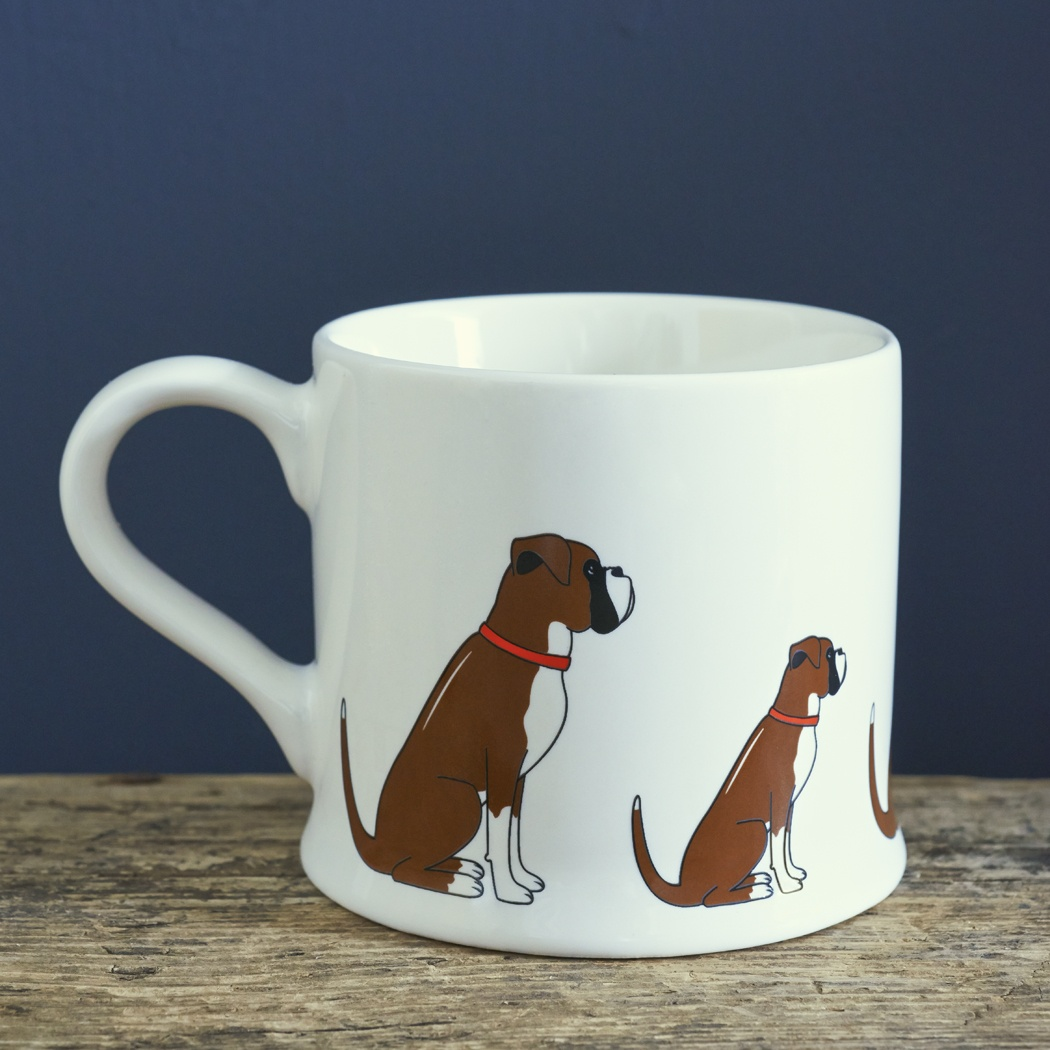 Boxer Mug , Mischievous Mutts > Mugs , Boxer