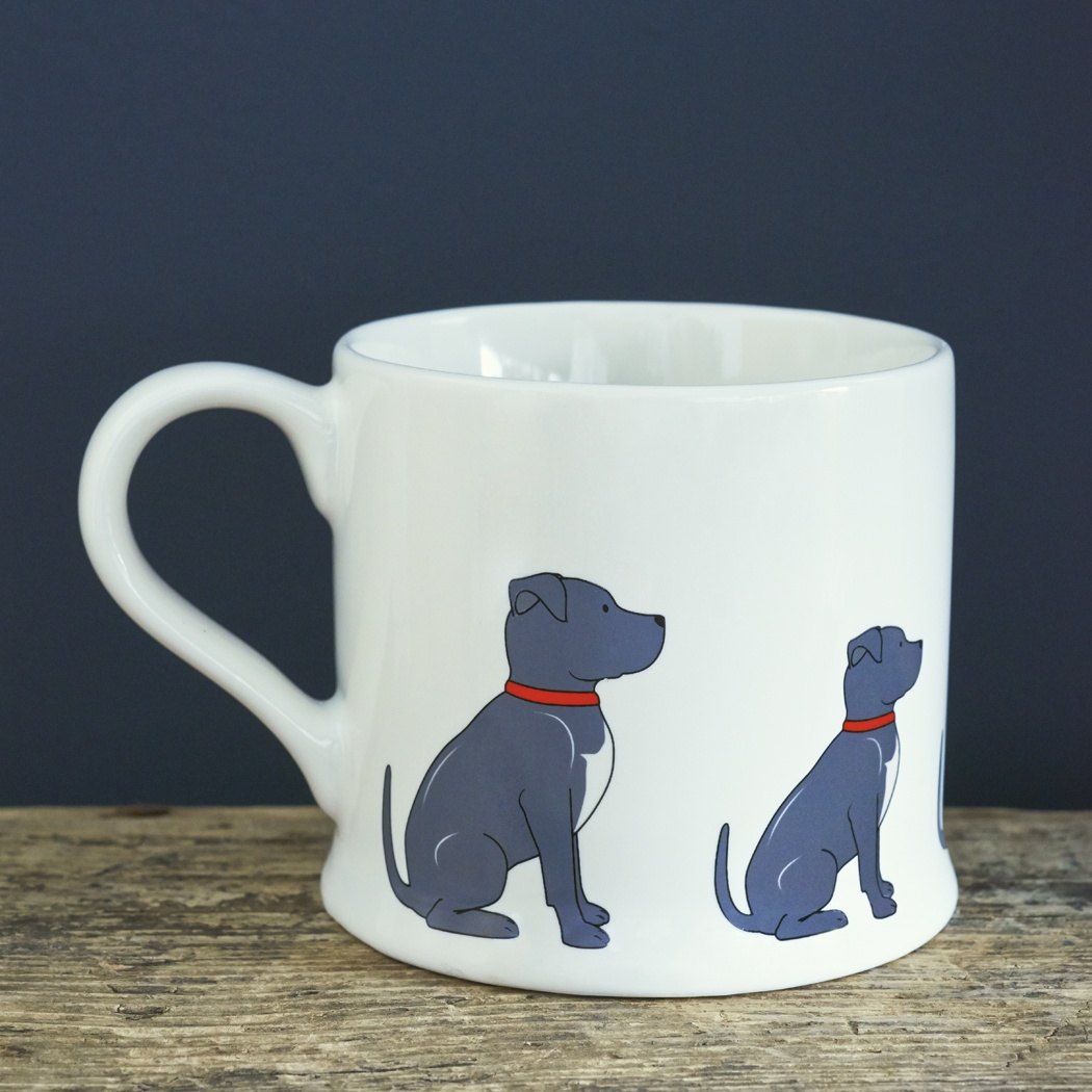 Staffie Mug , Mischievous Mutts > Mugs , Staffie