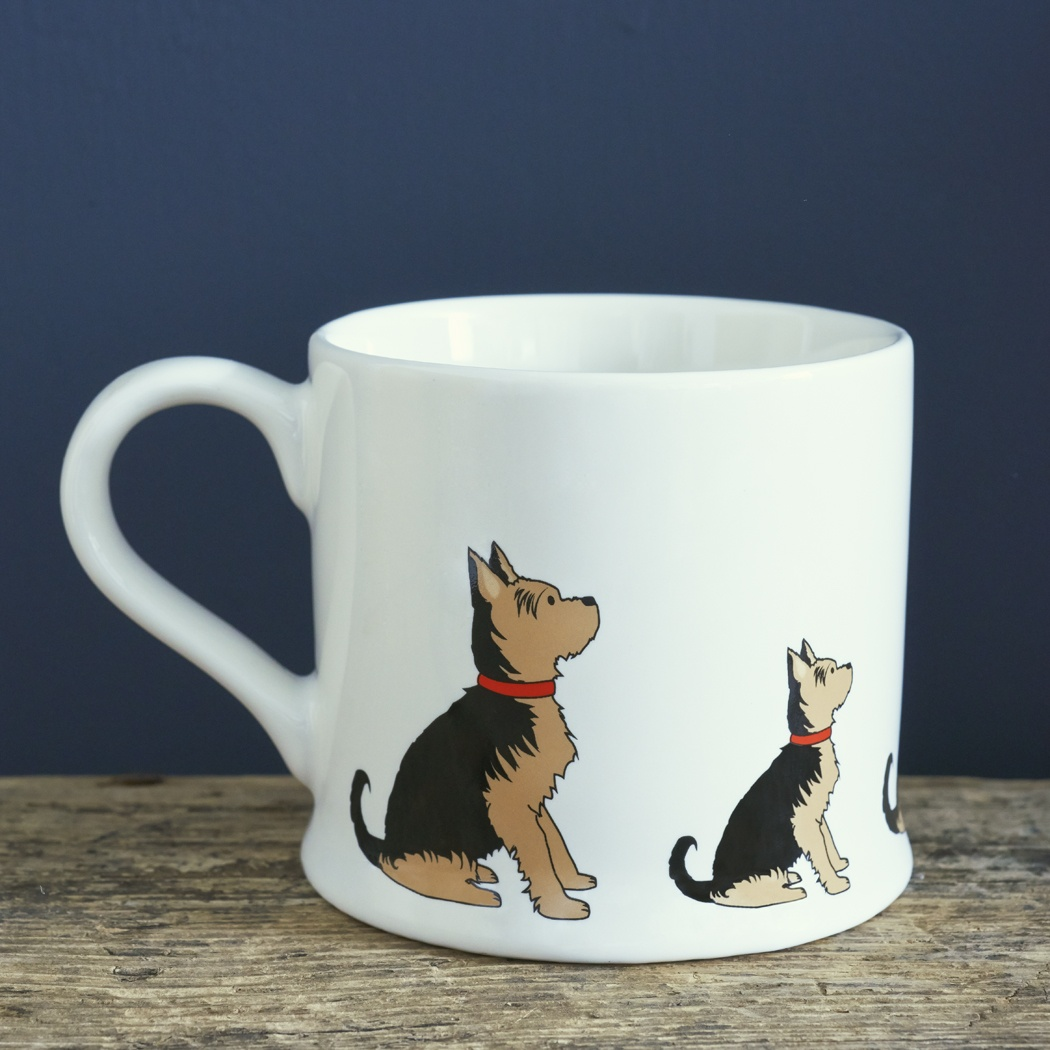 Yorkshire Terrier Mug , Mischievous Mutts > Mugs , Yorkshire Terrier