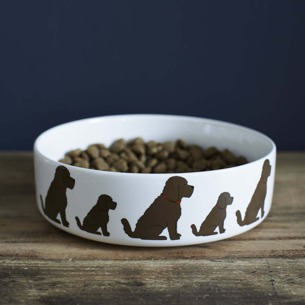 Cockapoo Dog Bowl , Mischievous Mutts > Dog bowls , Cockapoo