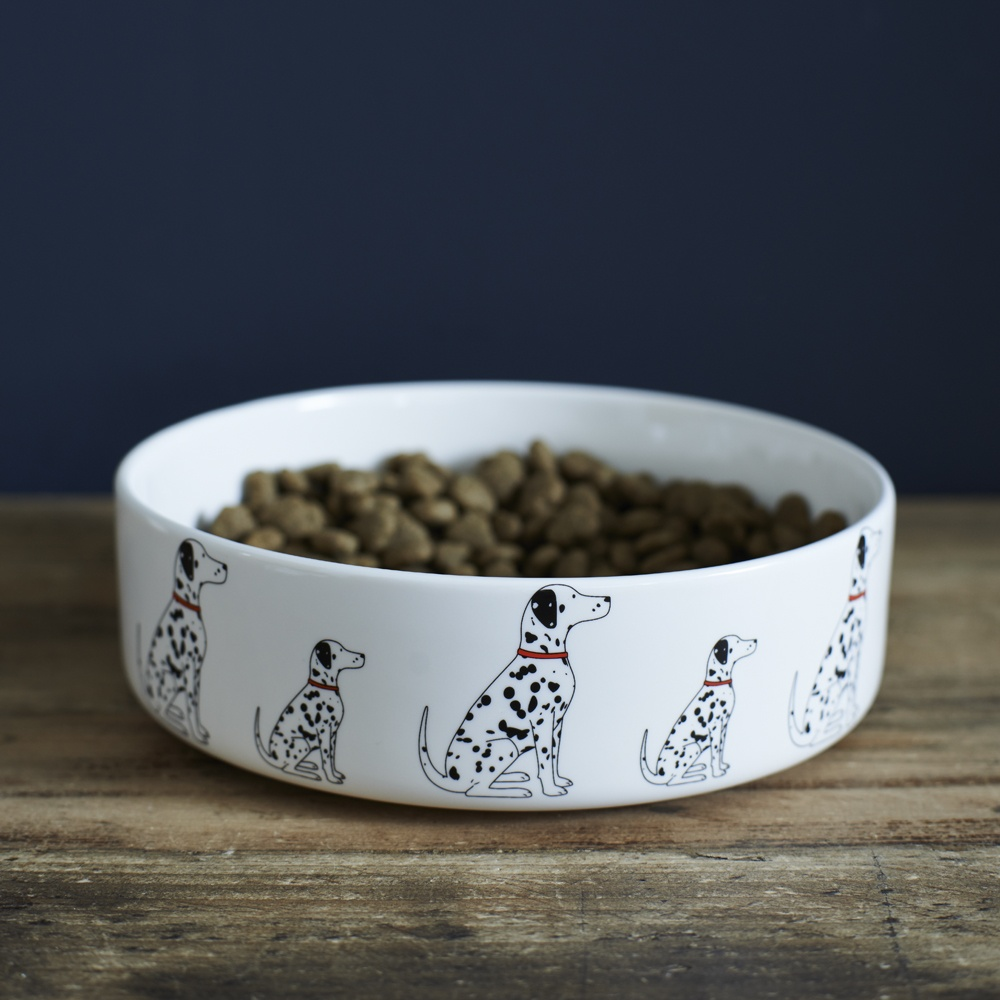 Dalmatian Dog Bowl , Mischievous Mutts > Dog bowls , Dalmatian