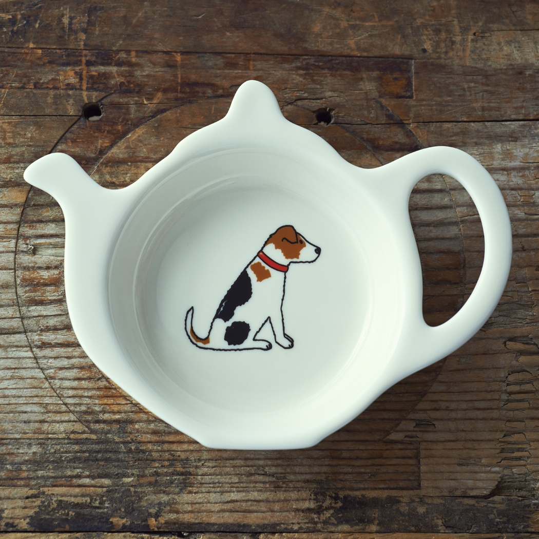 Jack Russell Teabag Dish , Mischievous Mutts > Teabag Dishes , Jack Russell