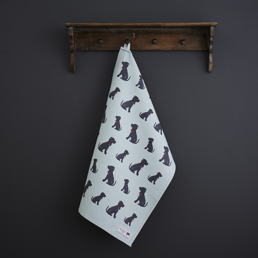 Staffie Tea Towel , Mischievous Mutts > Tea Towels , Staffie