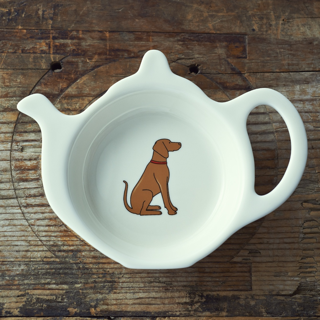 Vizsla Teabag Dish , Mischievous Mutts > Teabag Dishes , Vizsla