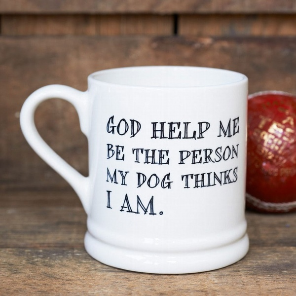 God Help Me - dog mug , Mutts & Moggies > Mugs ,