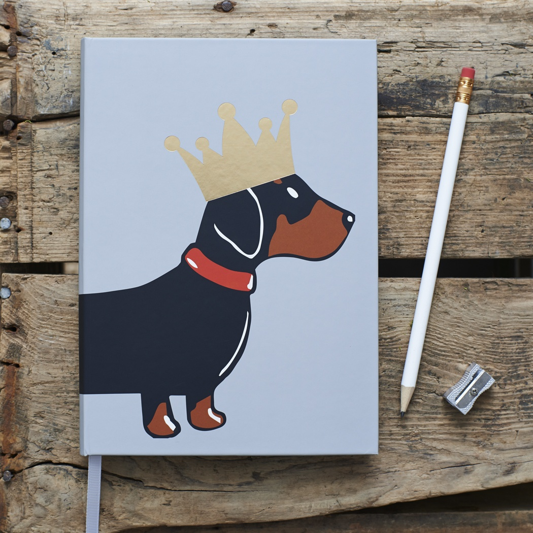 Dachshund Notebook , Mischievous Mutts > Notebooks , Dachshund